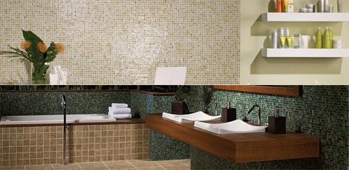 American Olean Ceramic Porcelain Mosaic Natural