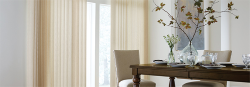 Graber creates extraordinary blinds, shades, shutters, drapes, and other window treatments